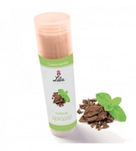 Tündérpuszi csokis, mentás ajakápoló UV védelemmel